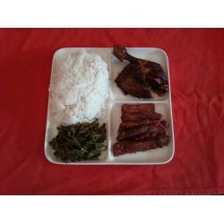 Witte rijst Moksie Metie