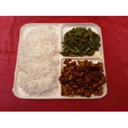 Witte rijst vegetarisch